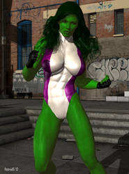 She-Hulk 09 by hotrod5
