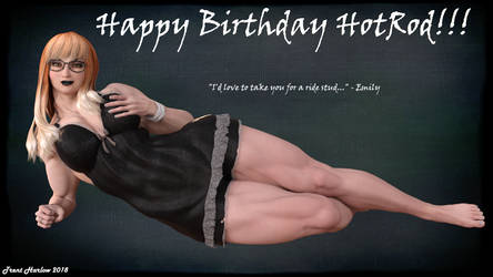 Happy Birthday from Emily by hotrod5
