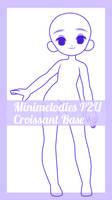 P2U Croissant Base by MiniMelodies