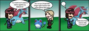 Dragon vs Fairy by DanVzare