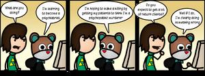 Becoming A Psychiatrist by DanVzare