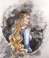 Princess of Nargothrond by LiigaKlavina
