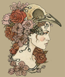 blossoming by LiigaKlavina