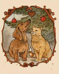greeting card by LiigaKlavina
