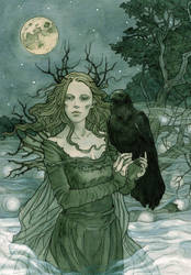 Faerie night by LiigaKlavina