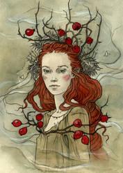 Rosehip crown by LiigaKlavina