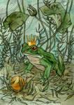 The Frog Prince. by LiigaKlavina