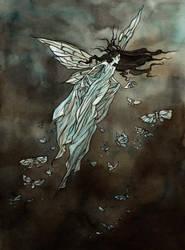 Moths of November by LiigaKlavina