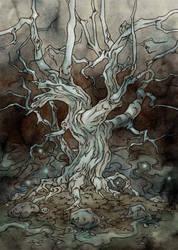 White Tree of Fairies by LiigaKlavina
