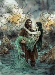 Bride of the Sea by LiigaKlavina