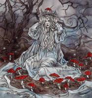 mushroom crown by LiigaKlavina