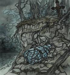 Light blue coffin by LiigaKlavina