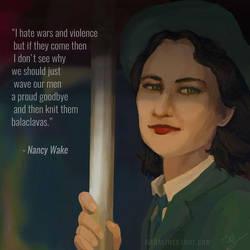 Nancy Wake by Magali-Mebsout