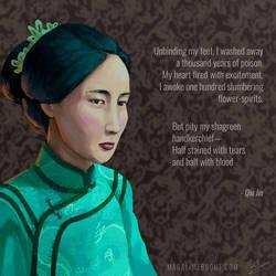 Qiu Jin by Magali-Mebsout