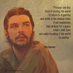 Che Guevara by Magali-Mebsout