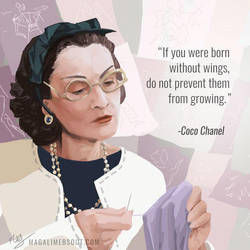 Coco Chanel by Magali-Mebsout