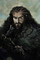 Thorin Oakenshield by Maelstromarts