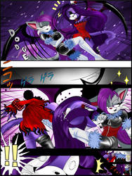 COMMISSION Vampire girls fighting - Page 3 by Martyna-Chan