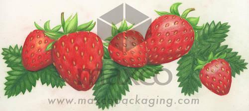 Strawberries by jobajec