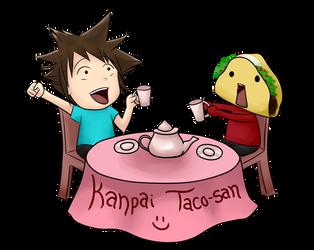 Taco Tea Party by LizaByte