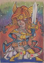 Angela - Guardian of the Galaxy by scruffyzero