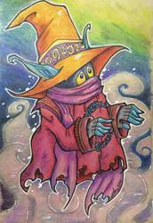 Court Magician by scruffyzero