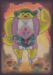 Marvel Time - Princess Smash by scruffyzero