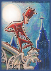 The Devil of Hell's Kitchen by scruffyzero