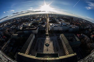 Ostrava - Sightseeing tower view by Zavorka
