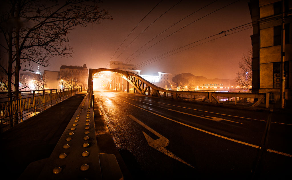 Sykora Bridge Ostrava CZ by Zavorka