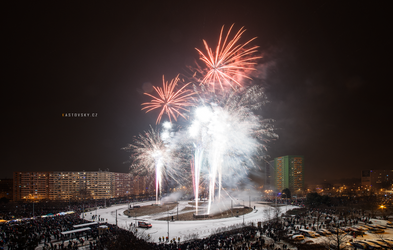 New Year's Eve Fireworks 2016 by Zavorka
