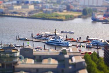 Miniature Hamburg III by Mako77