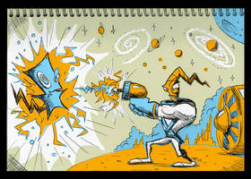 Notepad - Earthworm Jim by TonyGanem