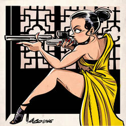 Ilsa Faust (MI: Rogue Nation) by albonet