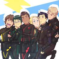 Ninja Storm Rangers by Lysergic44