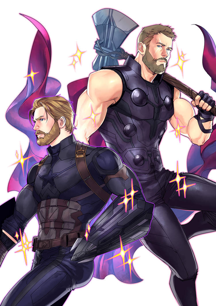 The Men of Infinity War-part 1 by Lysergic44