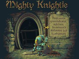 Mighty knightie by fool