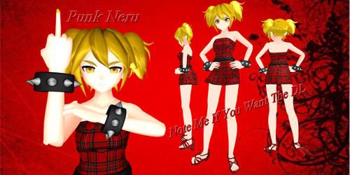 Kawaii Punk Neru by AkitaNeruxX