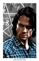 Sam Winchester - Supernatural Series #2 by indigowarrior