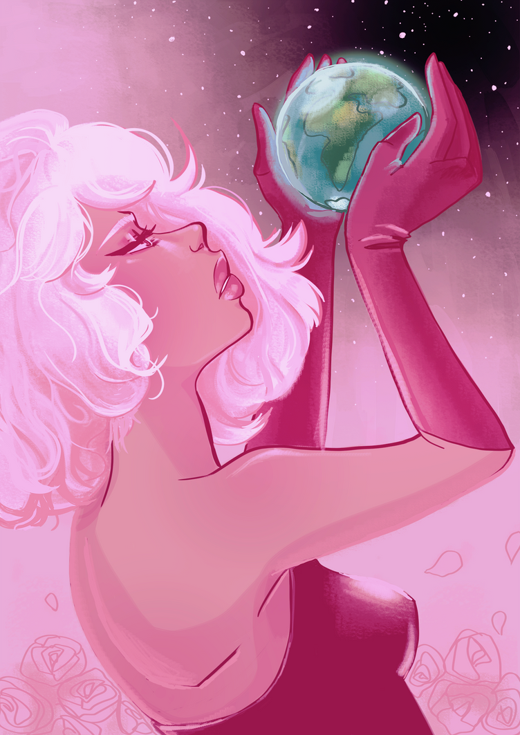 Hi guys! I've just finished the five Steven Universe seasons. I totally love this show! I'm looking forward to draw more of its characters. I felt in love with Pink Diamond's design and lore. What ...