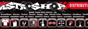 Astroshop Stickers by e-cone