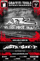 Astroshop- Graffiti Stickers by e-cone