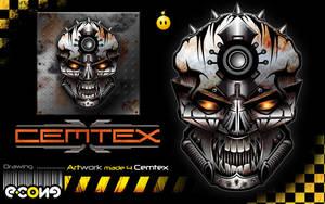 Cemtex Skull by e-cone