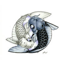 Traditional Koi 6 by DanielRound