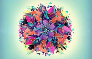 Paper Dandelion by 1201