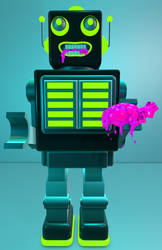 Carnivorous Roboticus by 1201