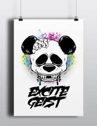 A rad panda by 1201