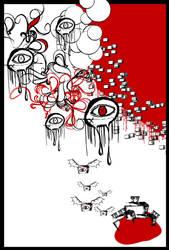 TV in my eye by 1201
