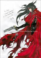 Commission: Vincent Valentine by Kie-chan