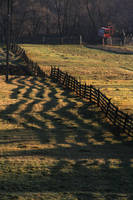 Sunrise Fence by dgheban